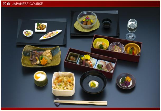 JAL F menu Japan