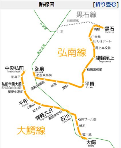 弘南鉄道1