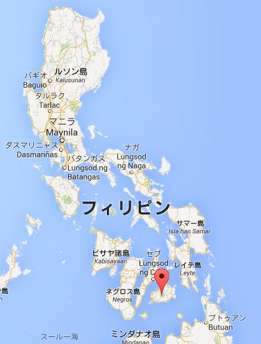 フィリピン メガネザル 地図