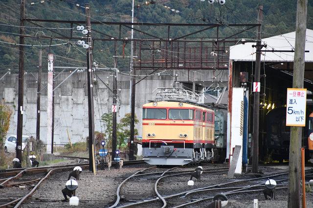 電気機関車 大井川 (4)