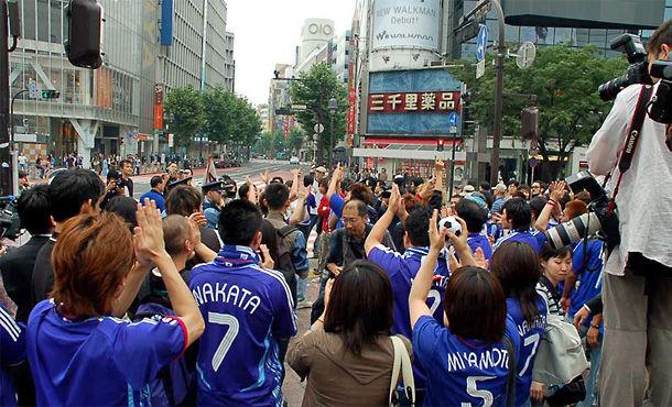 渋谷 スクランブル交差点2