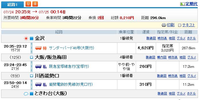 浜松→金沢 先生