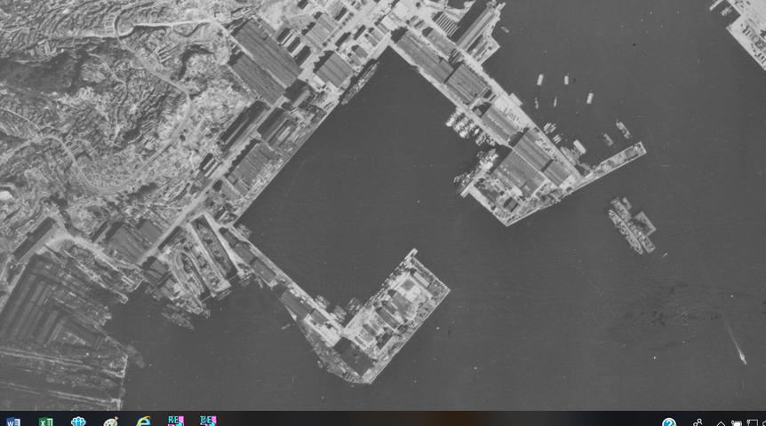 佐世保軍港1 1948