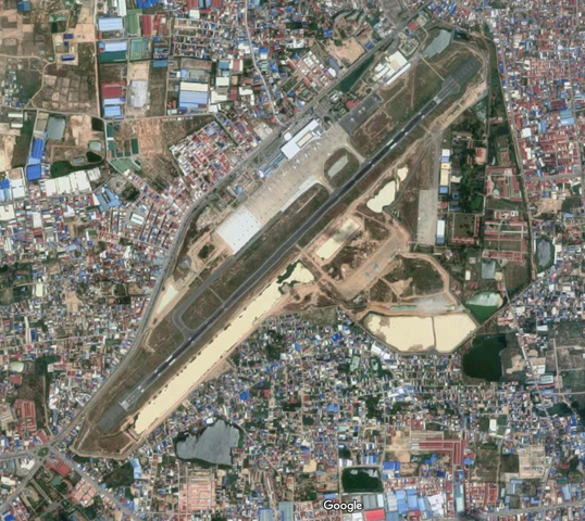 プノンペン空港1