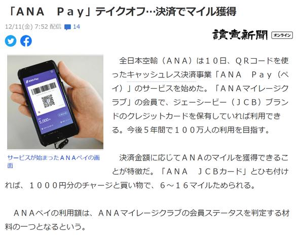 ANA Pay1