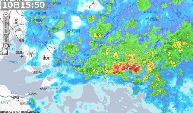 3月10日大雨