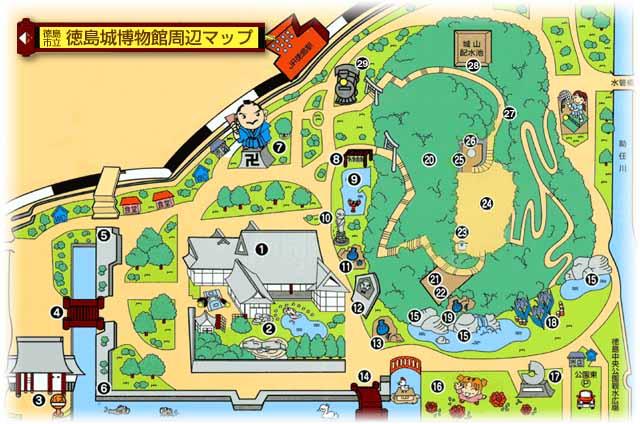 徳島 徳島城