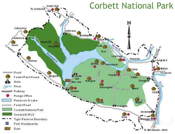 corbett-map