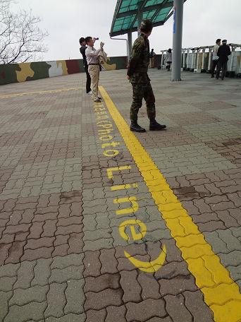 14DMZツアー 軍事境界線 (4)