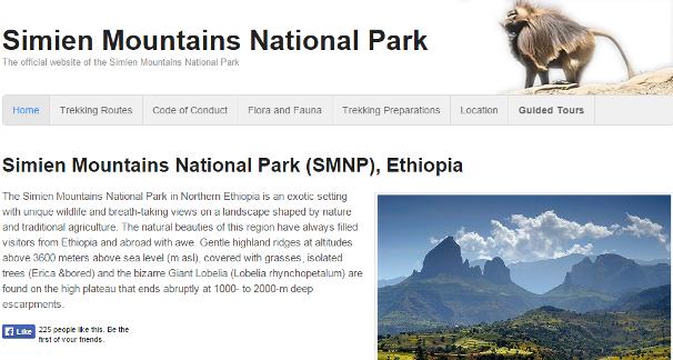 シミエン国立公園