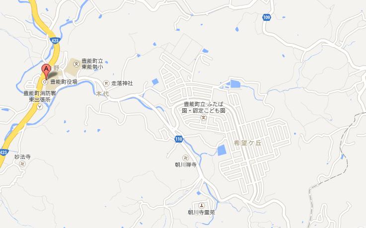 豊能町 201310 拡大