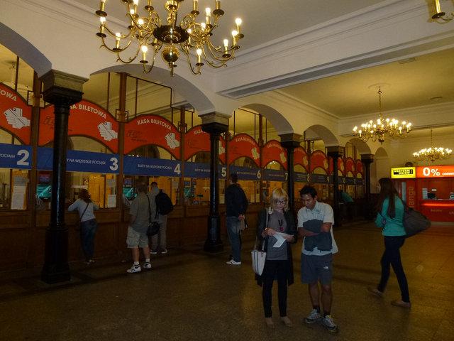 クラコフ 駅舎 (3)