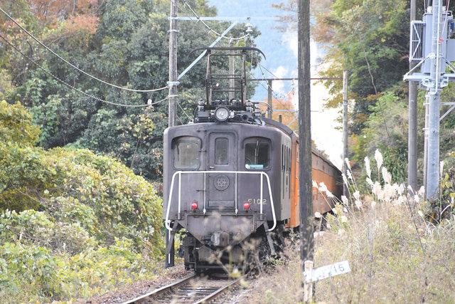電気機関車 大井川 E10 (2)