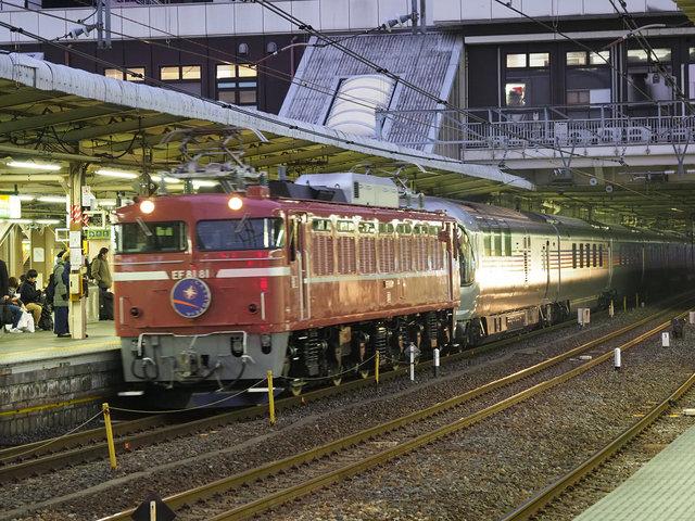 電気機関車 EF81 (6)