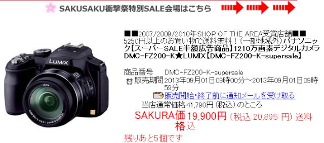 FZ200 Sakura