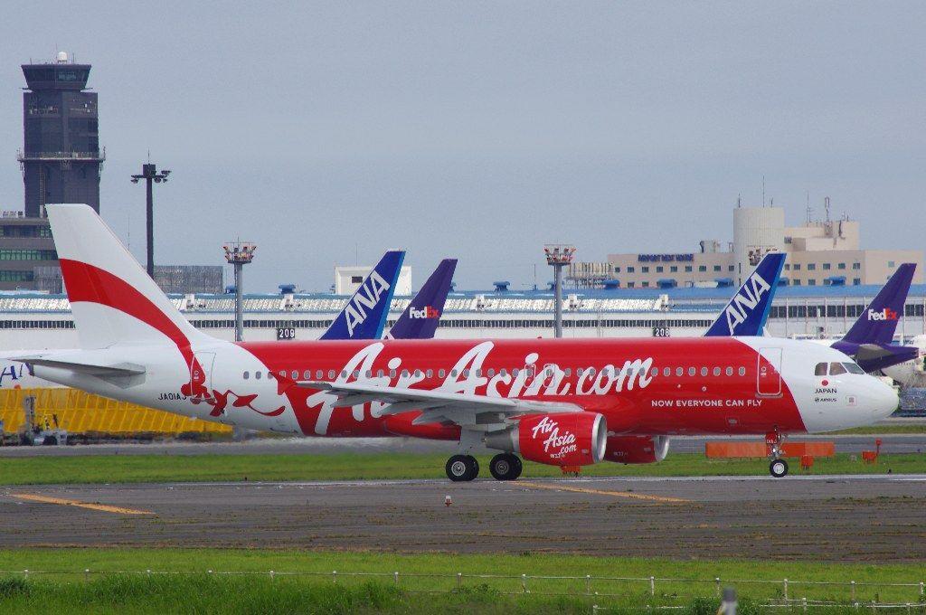 LCC エアアジア 機体1