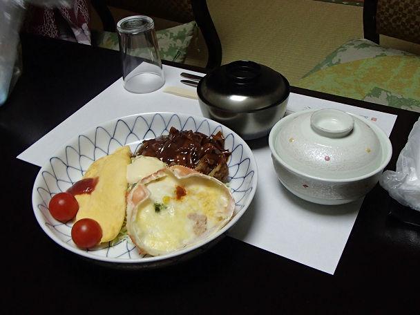 夕食 子供 (1)