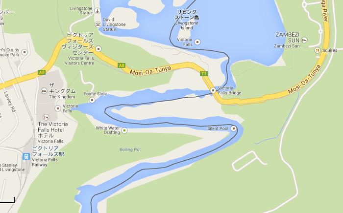 滝上空地図