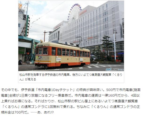 松山市電1