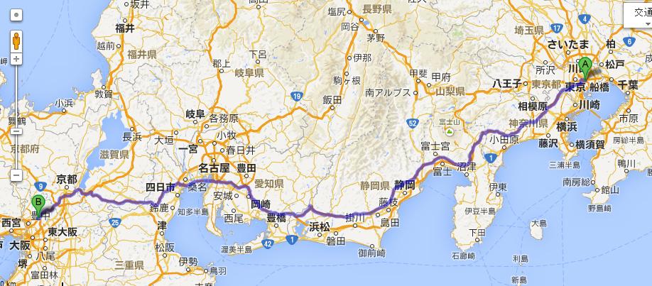 日本橋ー名神吹田JCT