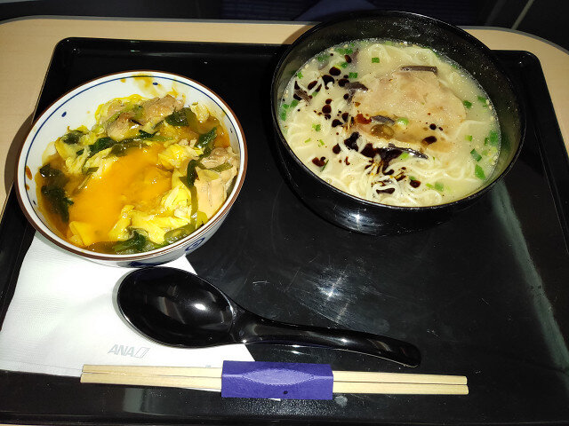 41 2食目 to YVR (2)