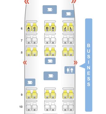 旅行予約 シート座席表 Seat Review