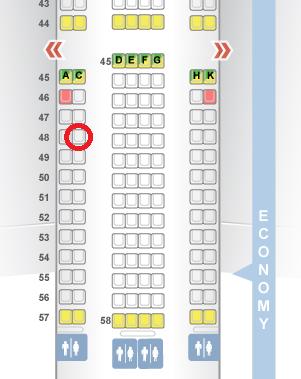 座席 2 HKG-JNB