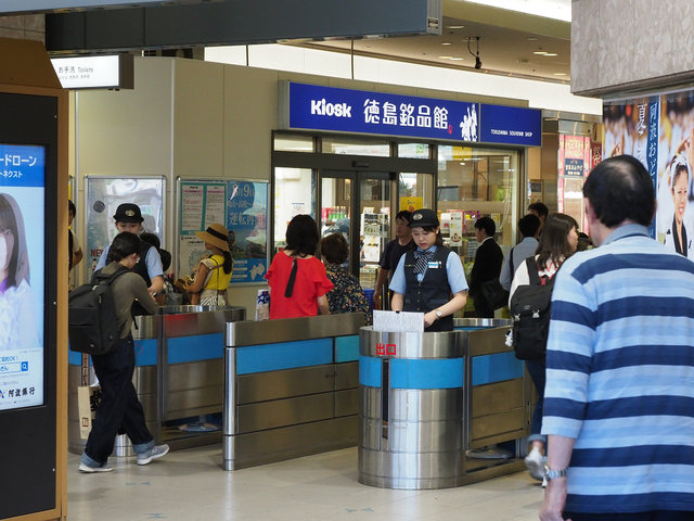 9 徳島駅構内 (1)