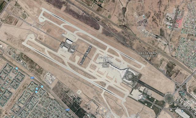 アシガバード空港1