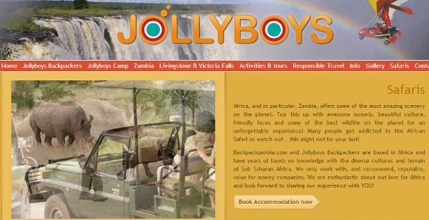Zambia Jollyboys2 safari