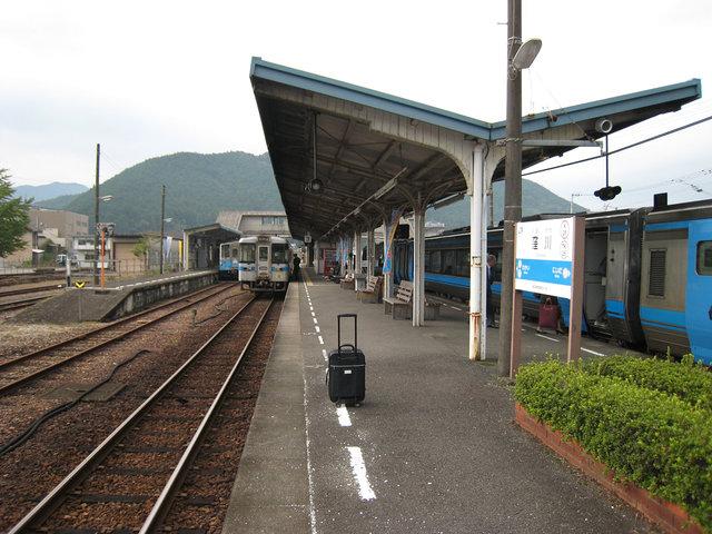 12 窪川駅