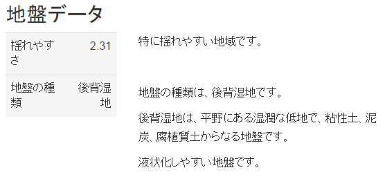2 地震に強い街 埼玉