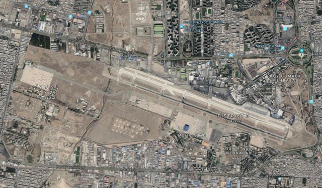 テヘランのメヘラーバード国際空...