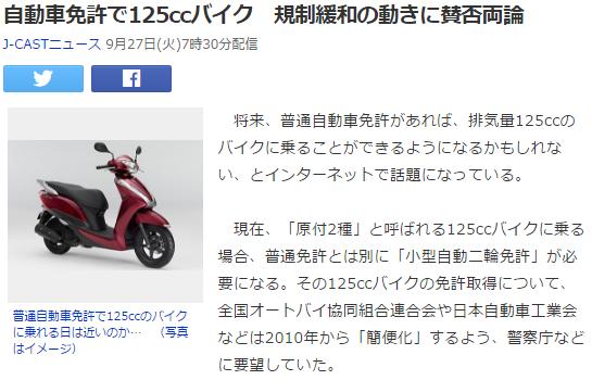 気になる3 125ccバイク