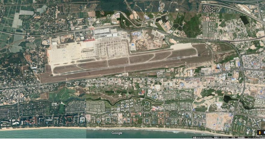 三亜鳳凰国際空港1