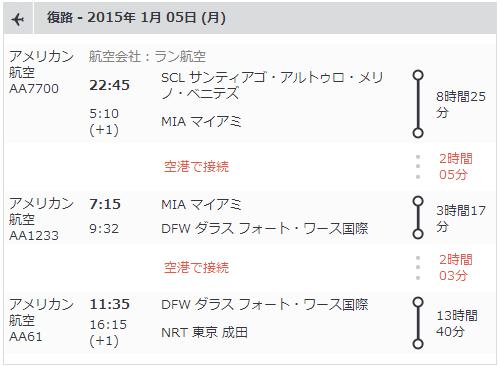 ウユニ AA Timetable2