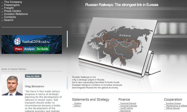 ロシア国内鉄道