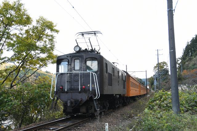 電気機関車 大井川 E10 (1)