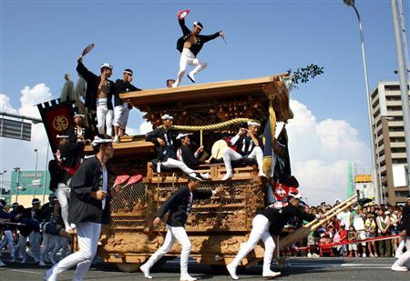 岸和田だんじり祭2