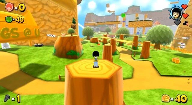 マリオ64風の箱庭アクション、WiiU『FreezeME フリーズミー』の配信日が7月6日に決定!