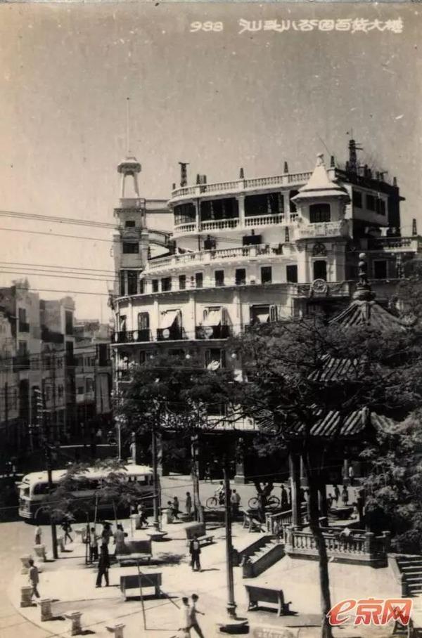 1950年代的小公园和百货大楼(原南生公司)