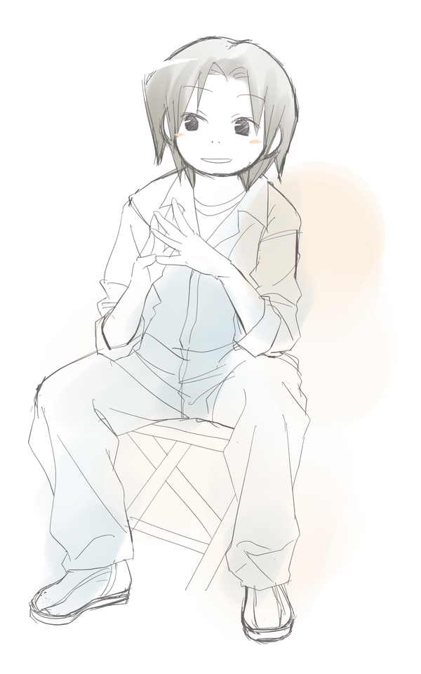 練習用座り姿勢7