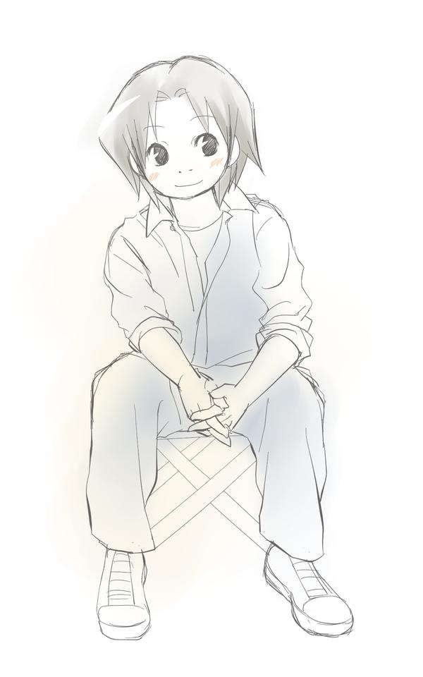 練習用座り姿勢6