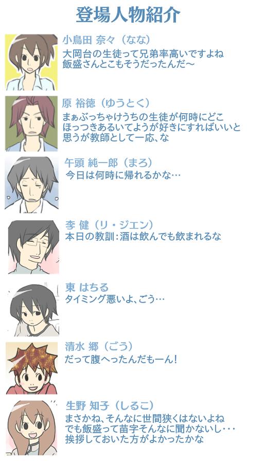 ごっちゃ用 カフェ登場人物紹介9