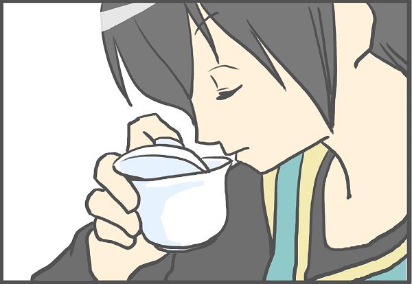 蓋碗で飲む はちる