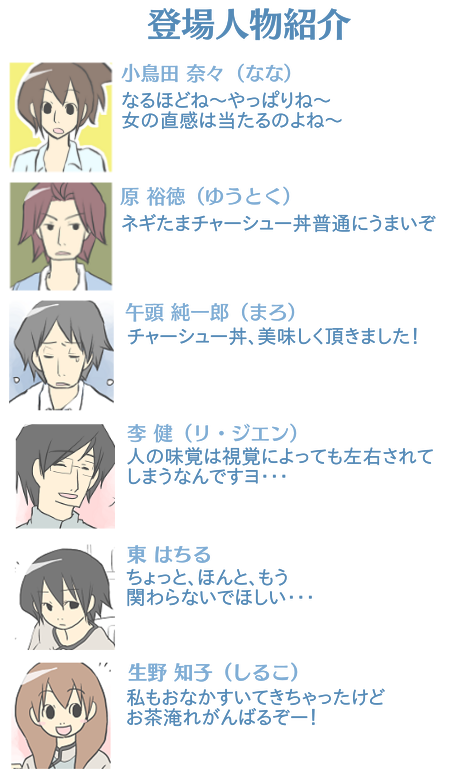 ごっちゃ用 カフェ登場人物紹介6