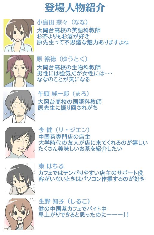 ごっちゃ用 カフェ登場人物紹介