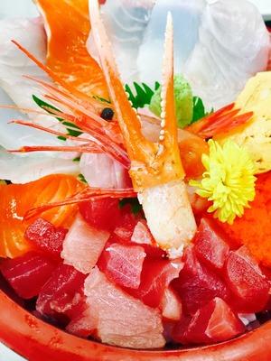 海鮮丼7月②