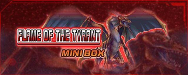【遊戯王デュエルリンクス】現段階で判明している新ミニBOX「フレイム・オブ・ザ・タイラント」に収録されたSR大紹介!!のサムネイル画像
