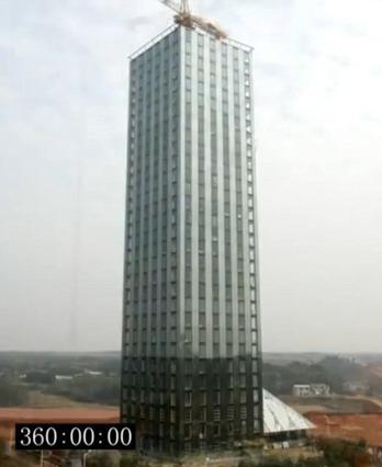中国のビル